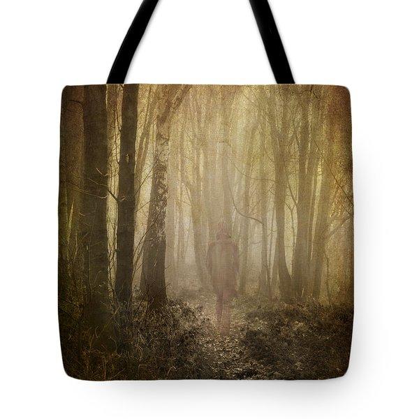 Stroll Through My Mind Tote Bag by Meirion Matthias