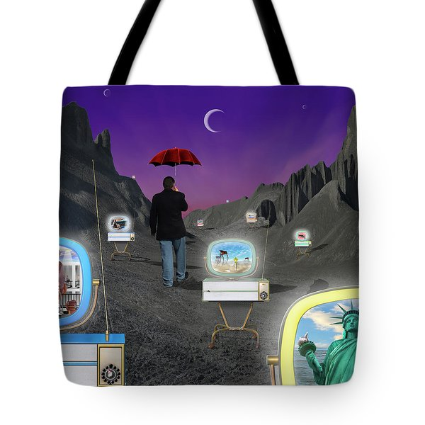 Tote Bag featuring the photograph Strolling Down Memory Lane by Mike McGlothlen