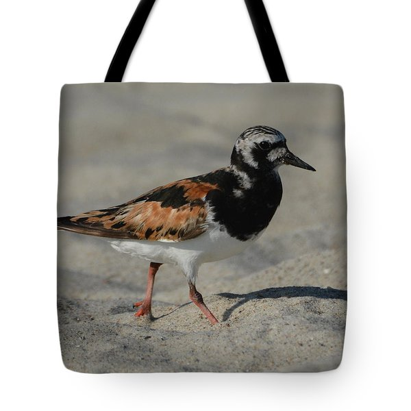 Strolling In The Sand Tote Bag