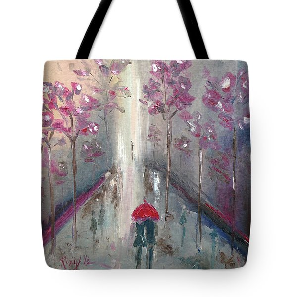 Strolling Tote Bag by Roxy Rich