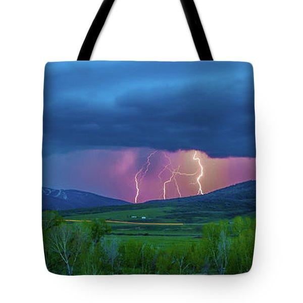 Storm Peak  Tote Bag