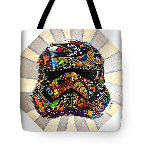 Strom Trooper Afrofuturist  Tote Bag