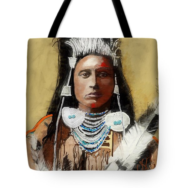 99402451e0be Tote Bag featuring the painting Strong And Stoic by Craig Nelson