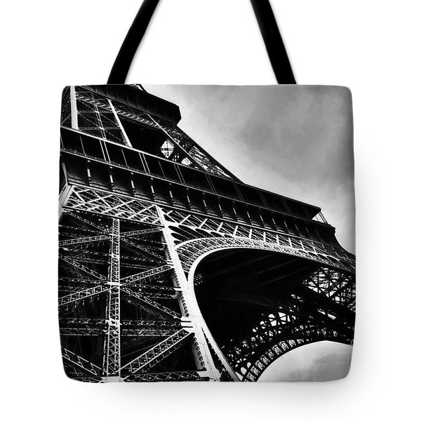 Tote Bag featuring the photograph Strong As Steel In Paris by Mel Steinhauer