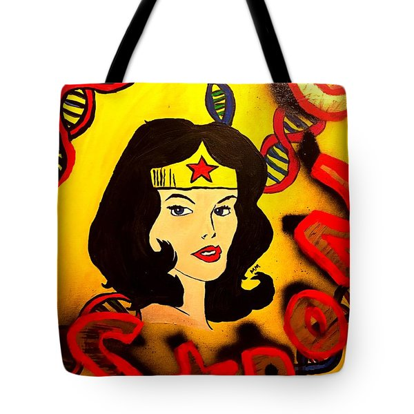 Strong Veins  Tote Bag by Miriam Moran