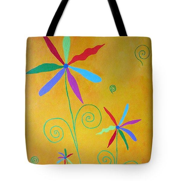 Stronger Together Tote Bag by Pamela Allegretto