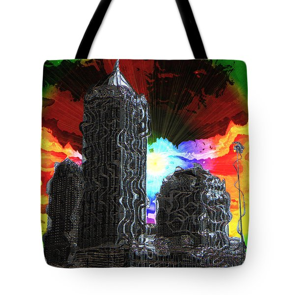 Structural Dissonance Tote Bag by Iowan Stone-Flowers