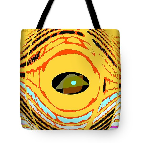 Structure In Perspective Tote Bag by Ian  MacDonald