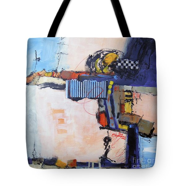 Structured Tote Bag by Ron Stephens