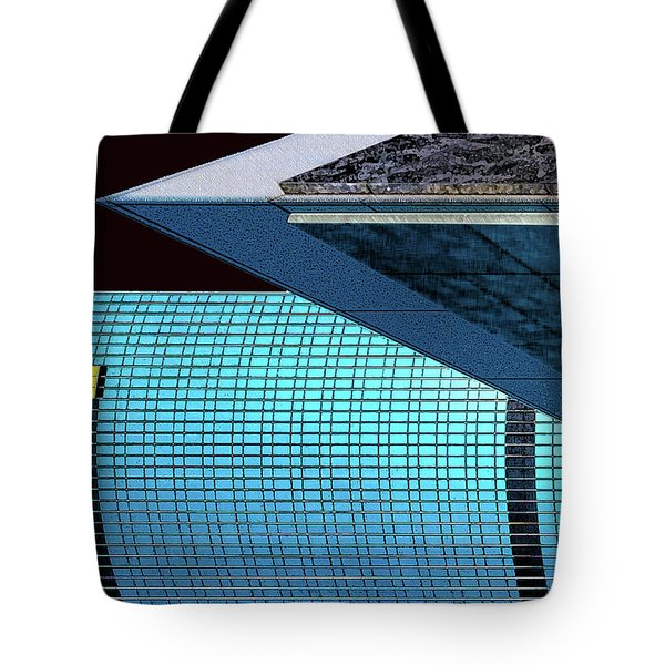 Structures West 3 Tote Bag by Bruce Iorio
