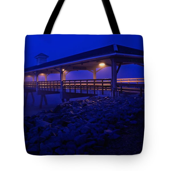 Once In A Blue Mood Tote Bag