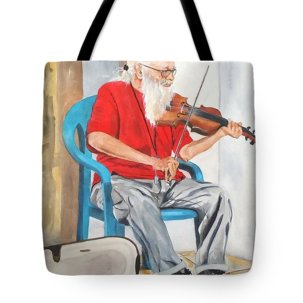 Strummin' Up Business Tote Bag by Jean Blackmer