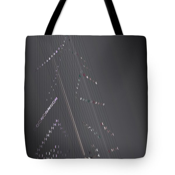 Strung Art Tote Bag