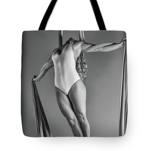 Strung Taut Silks Tote Bag