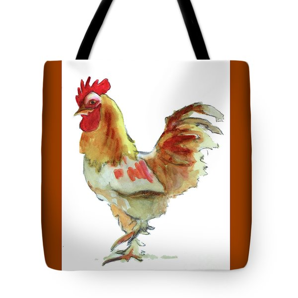Tote Bag featuring the painting Strut Your Stuff 4 by Kathy Braud