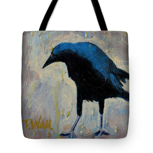Tote Bag featuring the painting Struttin' by Pattie Wall
