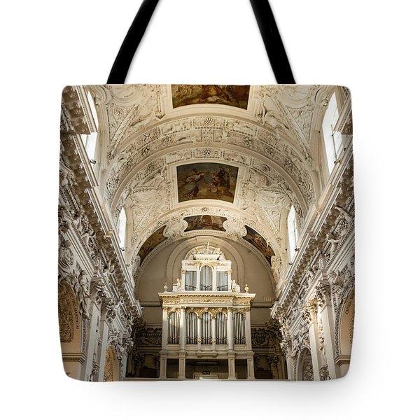 Sts Peter And Paul Church Interior Tote Bag