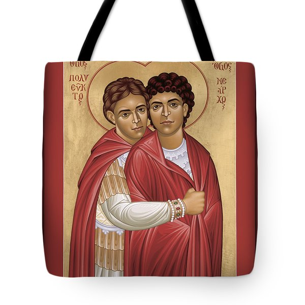 Sts. Polyeuct And Nearchus - Rlpan Tote Bag