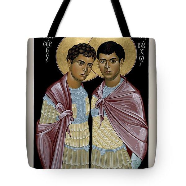 Sts. Sergius And Bacchus - Rlsab Tote Bag