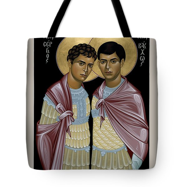 Sts. Sergius And Bacchus - Rlsab Tote Bag