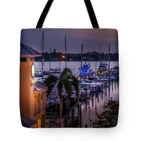 Stuart Harbor Tote Bag