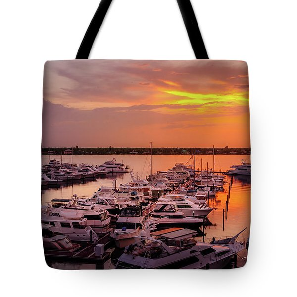 Stuart Sunset Tote Bag