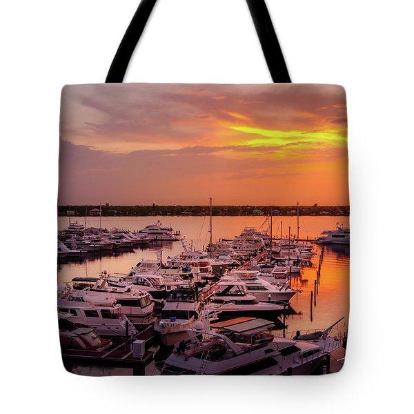 Stuart Sunset Tote Bag