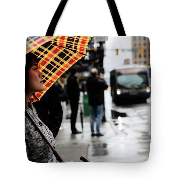 Tote Bag featuring the photograph Stuck Down by Empty Wall