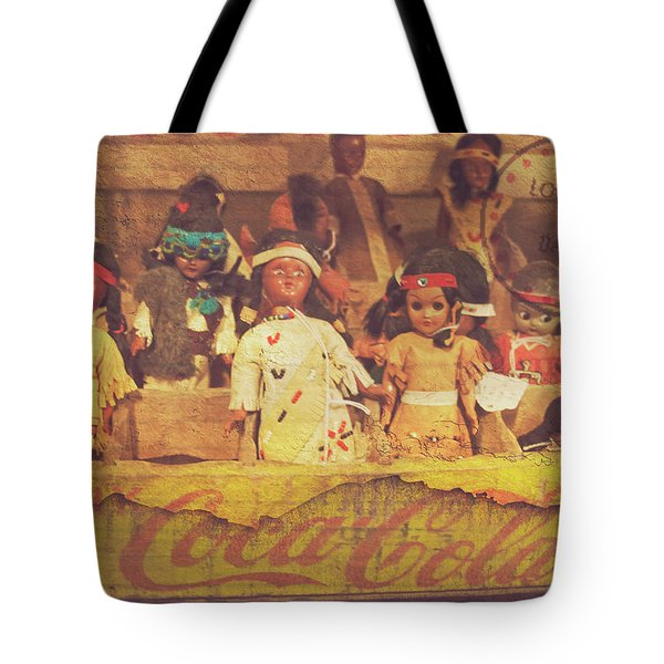 Tote Bag featuring the photograph Stuck In This Box With Nothing To Drink by Toni Hopper