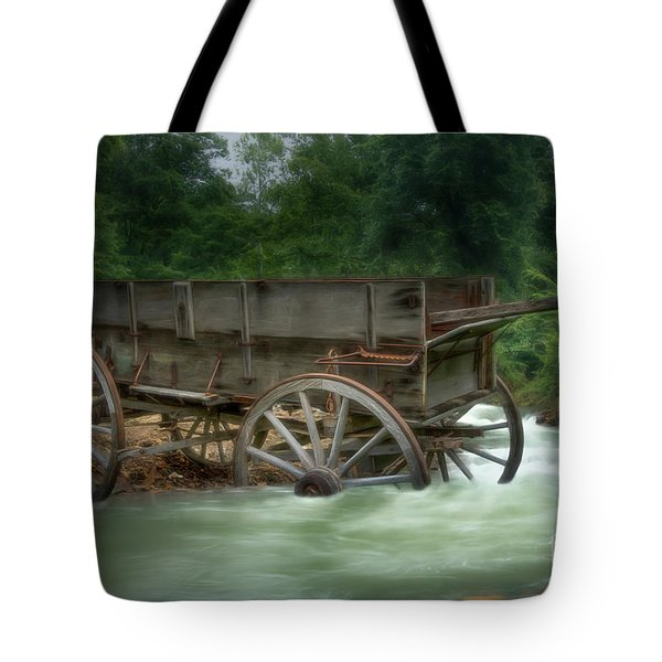Stuck In Time Tote Bag