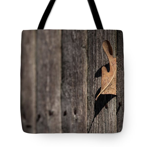 Tote Bag featuring the photograph Stuck by Karol Livote