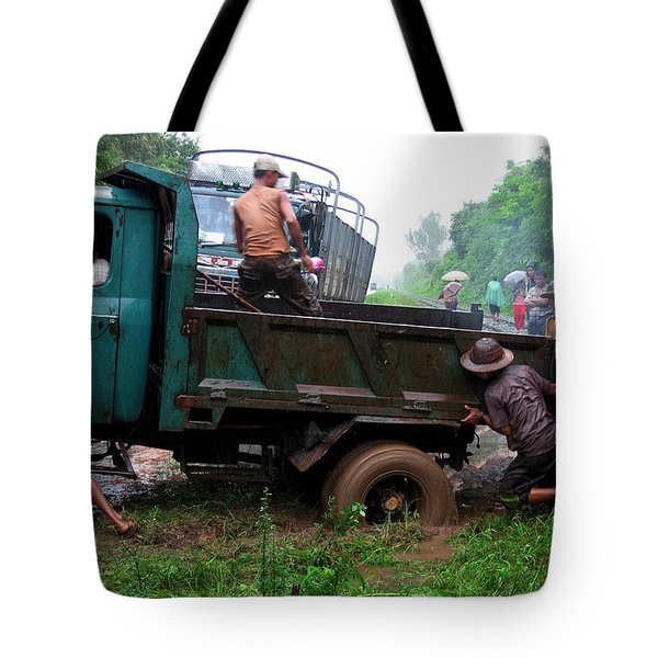 Stuck Tote Bag by RicardMN Photography