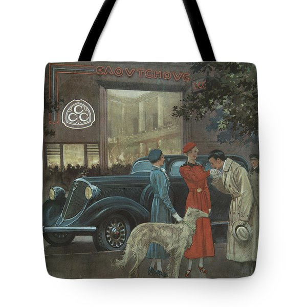 Tote Bag featuring the photograph Studebaker #8704 by Hans Janssen