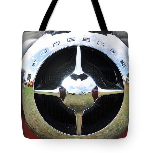 Studebaker Chrome Tote Bag by Glenn Gordon