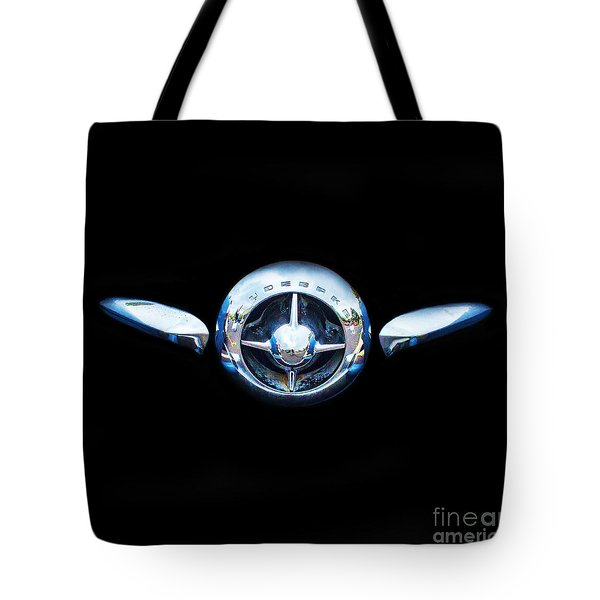 Studebaker In Black Tote Bag