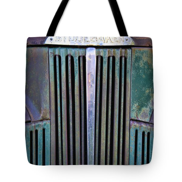 47 Studebaker Pick-up Grill Tote Bag
