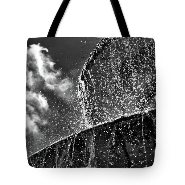 Students Fountain Tote Bag