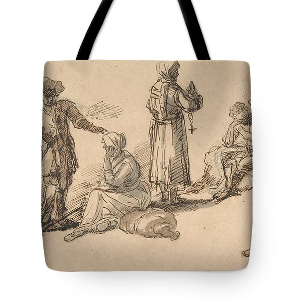 Studies For Standing And Seated Figures Tote Bag