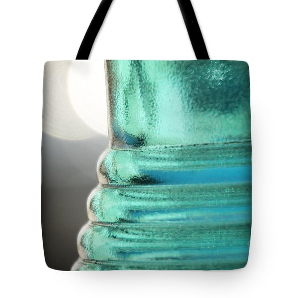 Studies In Glass .. Bottle Tote Bag by Lynn England
