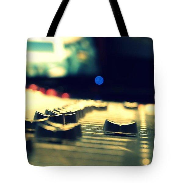 Studio Moments - Faders Tote Bag