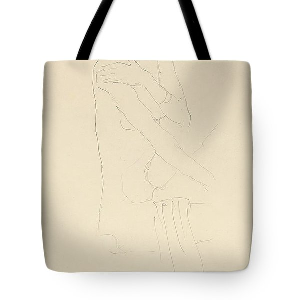 Study For Adele Bloch Bauer II Tote Bag by Gustav Klimt