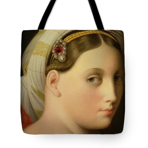 Study For An Odalisque Tote Bag by Ingres