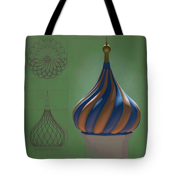 Study For An Onion Dome Tote Bag