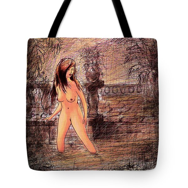 Study For Bathsheba Tote Bag by Rachel Christine Nowicki