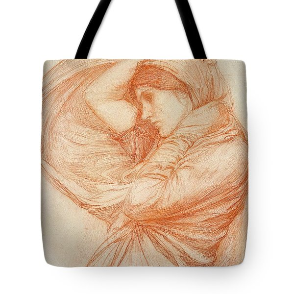 Study For Boreas Tote Bag