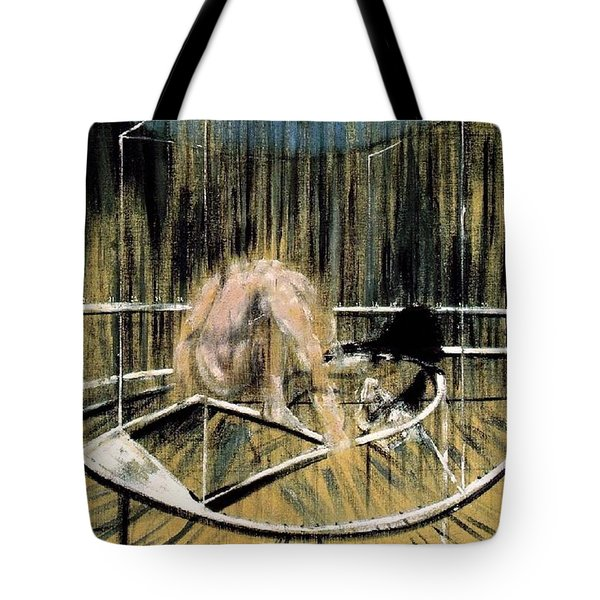 Study For Crouching Nude Tote Bag