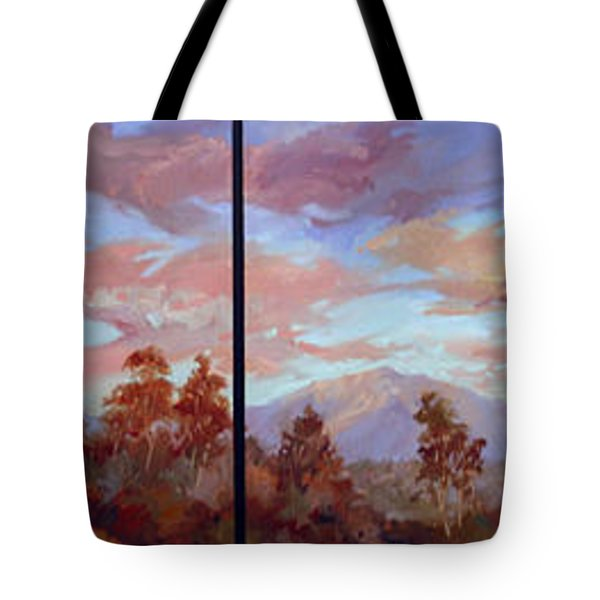 Study For Mount San Antonio Tote Bag