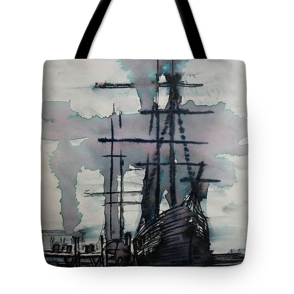 Study For Sailing Vessel Pandora Tote Bag
