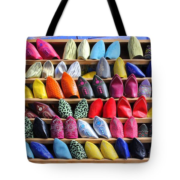 Tote Bag featuring the photograph Study In Color by Ramona Johnston