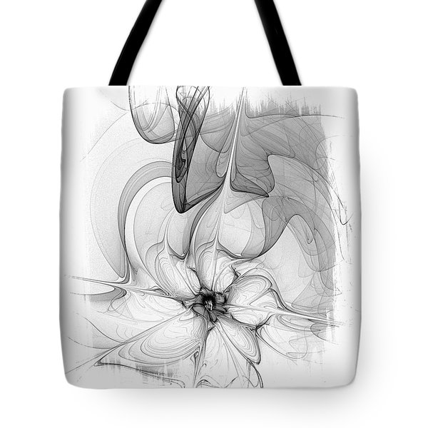 Study In Monochrome Tote Bag